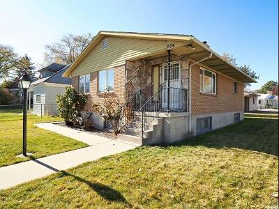 Salt Lake City Single Family Home For Sale: 504 S Cheyenne St