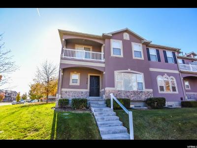 West Jordan Townhouse For Sale: 5116 W Cold Stone Ln S