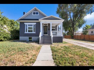 Salt Lake City Single Family Home For Sale: 636 E Warnock Ave