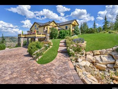 Park City Single Family Home For Sale: 7084 Pinecrest Dr #3