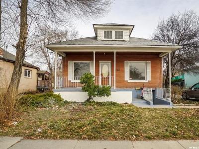 Salt Lake City Single Family Home For Sale: 2513 Park St