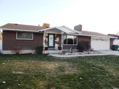 West Jordan Single Family Home For Sale: 2037 W 6960 S
