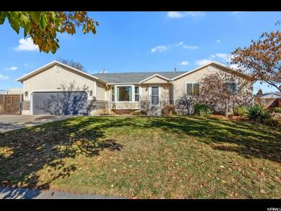 West Jordan Single Family Home For Sale: 4846 W 8620 S