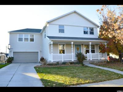 Tooele County Single Family Home For Sale: 1663 N 40 E