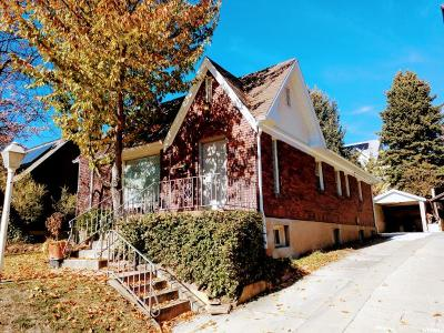 Salt Lake City Single Family Home For Sale: 557 E 7th Ave