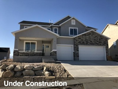 Lehi Single Family Home For Sale: 3943 N 850 Cul W #175
