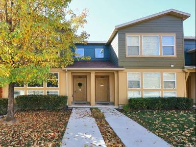 South Jordan Townhouse For Sale: 3763 W Summer Heights Dr S