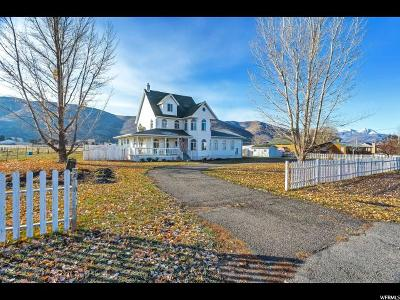Wasatch County Single Family Home For Sale: 78 E 3000 S