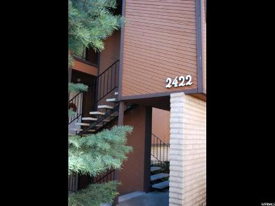 Salt Lake City Condo For Sale: 2422 S Elizabeth St E #6