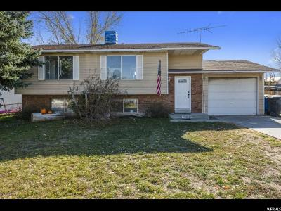 Salt Lake City Single Family Home For Sale: 5933 W Westbench Cir S