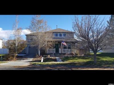 Tooele County Single Family Home For Sale: 1686 N Dean Ave W