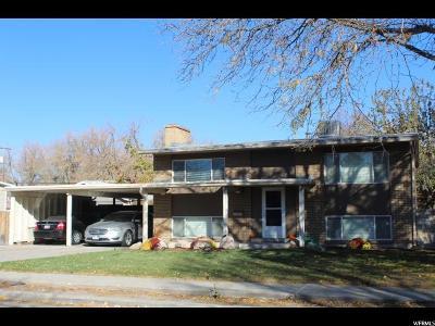 Salt Lake City Single Family Home For Sale: 1078 N Garnette St W