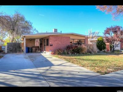 Salt Lake City Single Family Home For Sale: 1147 N Oakley St