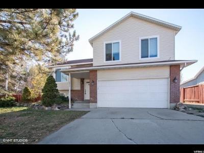 West Jordan Single Family Home For Sale: 3817 W Valley S