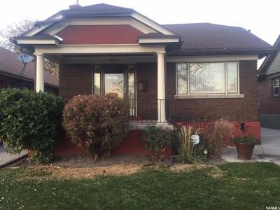 Salt Lake City Single Family Home For Sale: 577 E 2100 S