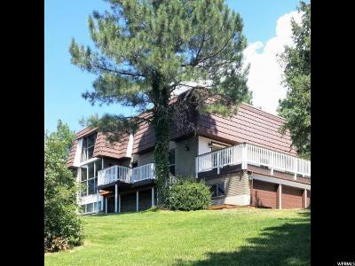 Cottonwood Heights Single Family Home For Sale: 8693 S Hidden Oaks Cir