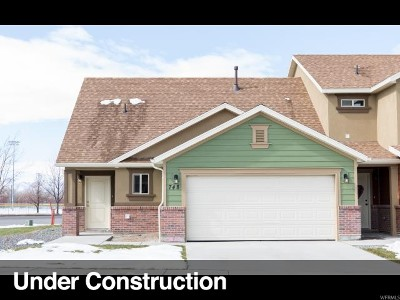 Spanish Fork Townhouse For Sale: 595 S 340 W #708