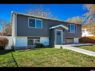 Salt Lake City Single Family Home For Sale: 6118 S Zodiac Dr W