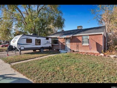 Salt Lake City Single Family Home For Sale: 1546 W 1300 S