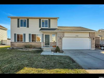Lehi Single Family Home For Sale: 1765 W 525 S