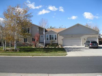 West Jordan Single Family Home For Sale: 9212 S Colter Bay Cir