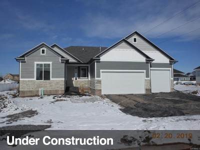 Kaysville Single Family Home Under Contract: 2072 W Jakes Ln N #204