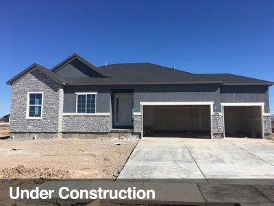Layton Single Family Home For Sale: 3392 W 650 N #125