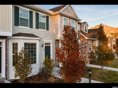 Provo Townhouse For Sale: 1290 W 210 N