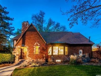 Salt Lake City Single Family Home For Sale: 29 N Wolcott St