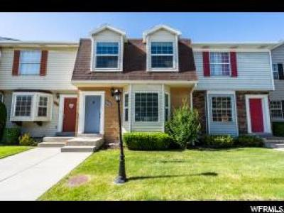 Orem Townhouse For Sale: 787 N 480 W