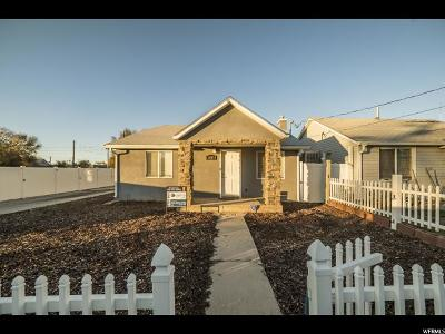 West Valley City Single Family Home For Sale: 1620 W Claybourne Ave S