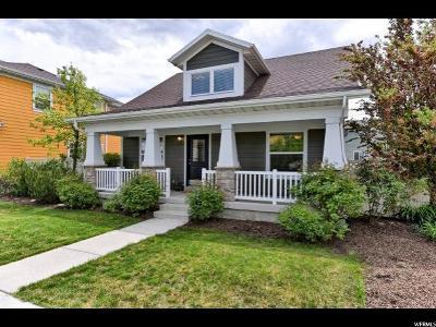 South Jordan Single Family Home For Sale: 5021 W Topcrest Dr