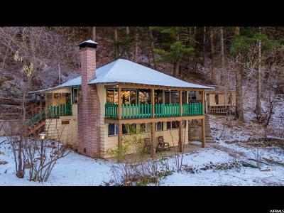 Salt Lake City Single Family Home For Sale: 1918 S Mt Aire Canyon Rd #54