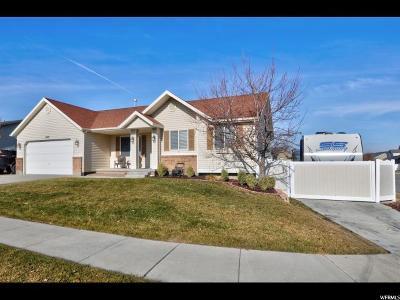 West Jordan UT Single Family Home For Sale: $380,000