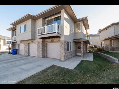 West Jordan Townhouse For Sale: 6617 W Ivy Gable Dr