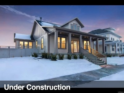 South Jordan Single Family Home For Sale: 10522 S Stavanger Dr W #11-709