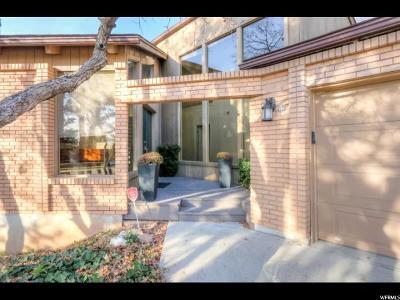 Salt Lake City Single Family Home For Sale: 2735 E Aspen Cir