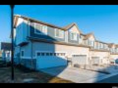 West Valley City Townhouse For Sale: 5704 W Red Ridge Ln