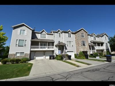 Provo Townhouse For Sale: 617 N Seven Peaks Blvd #15