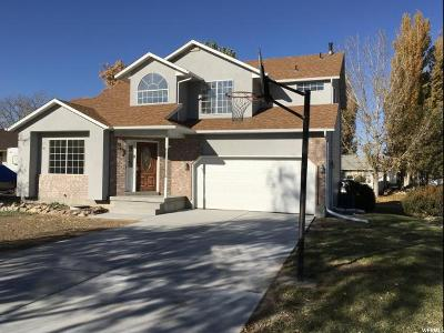 Stansbury Park Single Family Home For Sale: 105 N Country Clb