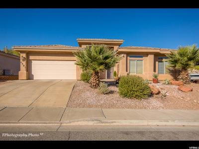 St. George Single Family Home For Sale: 2581 E 160 S