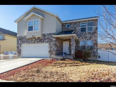 West Jordan Single Family Home For Sale: 8368 S Oak Vista S