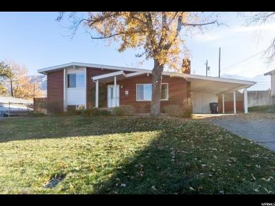 Cottonwood Heights Single Family Home For Sale: 7163 S Towncrest Dr