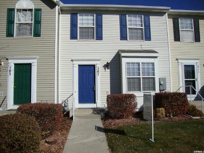 Davis County Townhouse For Sale: 507 S 425 E