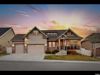 Herriman Single Family Home For Sale: 14796 S Desert Sage Dr