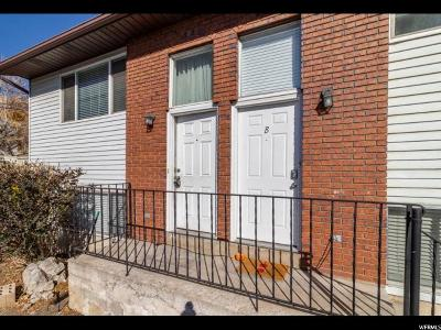 Provo Condo For Sale: 2071 S California Ave #A