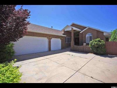 South Jordan Single Family Home For Sale: 3953 W Skye Dr S