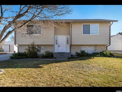 West Jordan UT Single Family Home For Sale: $275,000