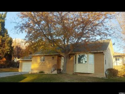 Orem Single Family Home For Sale: 1888 N 500 E