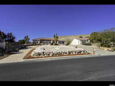 St. George Single Family Home For Sale: 3616 Paiute Rd